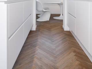PROJECT FLOORS GmbH Dapur Modern