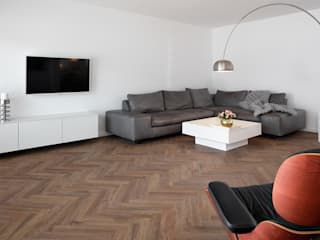 EllaStyleCologne – home sweet home PROJECT FLOORS GmbH Moderne Wohnzimmer