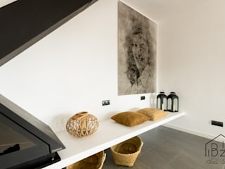 Mediterranean style living room by ROX & IRE IBIZA SL Mediterranean