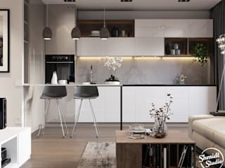 "Project ""Mini"", Minsk Shmidt Studio Modern Kitchen"