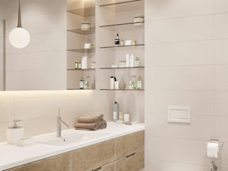 Modern style bathrooms by Shmidt Studio Modern