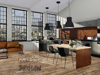 Diverse Umbauprojekte MITKO DESIGN Industriale Küchen