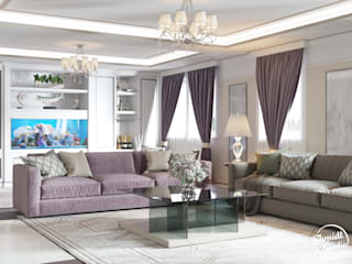 Shmidt Studio Modern living room
