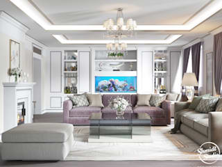 "Project ""Decent"", Minsk Shmidt Studio Modern Living Room"