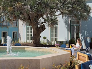 Hotel Palácio da Anunciada - Lioz por Manuel & Cardoso-Pedras Naturais e Compostos Clássico