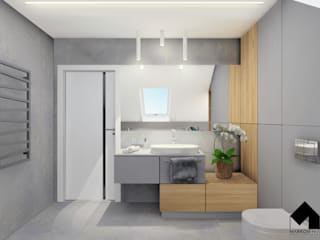 Modern Bathroom by MARKOWNIA STUDIO ARCHITEKTURY Modern