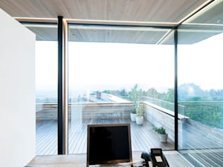 Holzbau Holzbau Feuerstein GmbH & CO KG Moderne Arbeitszimmer