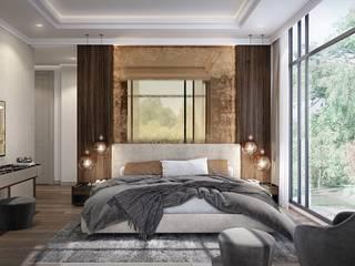 KIRSAL SAPANCA Modern Yatak Odası Zeray İnşaat A.Ş. Modern