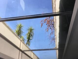 Ecoplan, Lda. Jardin d'hiver moderne Gris