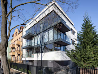 boehning_zalenga koopX architekten in Berlin Multi-Family house Glass Transparent