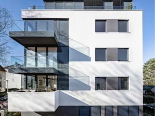 boehning_zalenga koopX architekten in Berlin Multi-Family house White