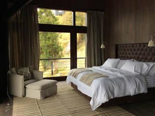Casa al Sur de Chile ALEJANDRA VICUÑA Dormitorios pequeños