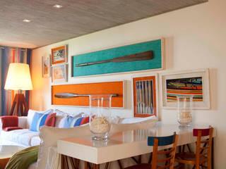 Casa de Playa ALEJANDRA VICUÑA Comedores de estilo moderno