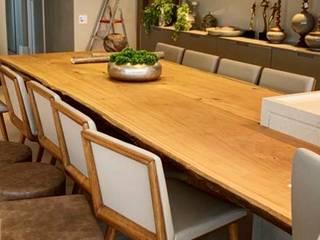 Projetos especiais em madeira Maciça por ArboREAL Móveis de Madeira Moderno