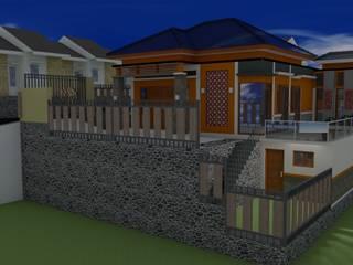 Desain Rumah tropis Oleh Purnama design and build