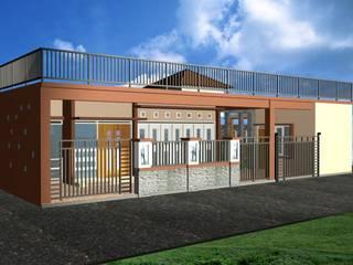 rumah satu lantai Oleh Purnama design and build