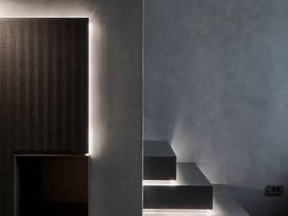 大器聯合室內裝修設計有限公司 Paredes y pisos de estilo minimalista