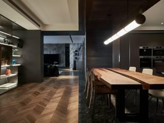 大器聯合室內裝修設計有限公司 Comedores de estilo moderno