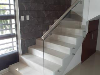 AR ALUMINIO & CRISTAL Escaleras Vidrio