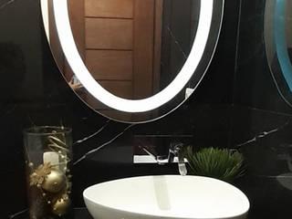 AR ALUMINIO & CRISTAL Baños de estilo moderno