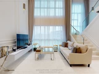 من Singapore Carpentry Interior Design Pte Ltd كلاسيكي