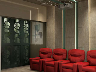 Modern and Contemporary design for a 4 BHK Residence in Mumbai by Space Design Group - Mulund W Modern