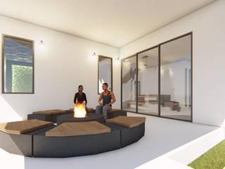 Beach House Modern living room by G.M Architects Modern