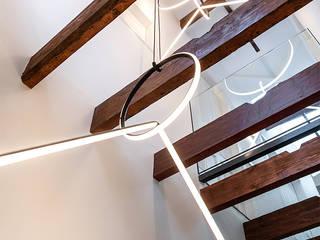 Renovatie klassieke villa Moderne gangen, hallen & trappenhuizen van Kraal architecten Modern