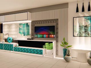 TV Wall Design: country  by G.M Architects ,Country