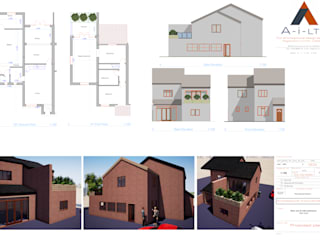 Side house extension от Architectural improvement Ltd