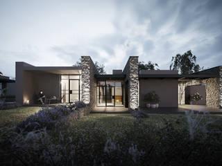 Casas de estilo moderno de Soffici e Galgani Architetti Moderno