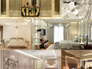 A sneak peek to various Residential Designs by Space Design Group Modern living room by Space Design Group - Mulund W Modern