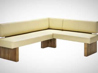 Eckbänke aus Massivholz Moderne Küchen von Naturnah Möbel Modern