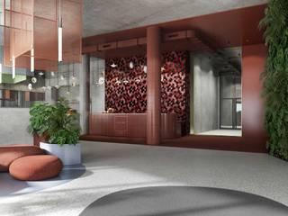 HOTEL_ARCHE_PIŁA od Zamek Design Industrialny