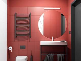 ŁAZIENKI_TRICOLOR Nowoczesna łazienka od Zamek Design Nowoczesny