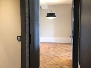 Rénovation d'un appartement Haussmannien à Lyon 6e Couloir, entrée, escaliers classiques par RS.D Agencements Classique