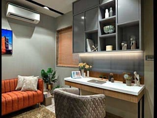 Luxury apartment /Residential project /modern interiors by Rich & Aki