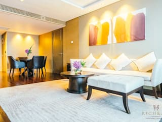 Luxury apartment by Rich & Aki