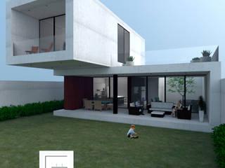 CASA R de GH Arquitectos Moderno