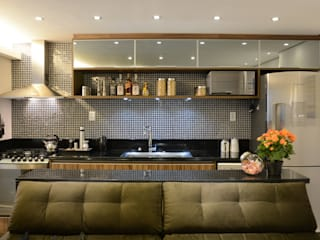 APARTAMENTO PETRÓPOLIS Cozinhas modernas por arquiteta aclaene de mello Moderno
