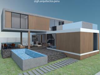 CASA L de GH Arquitectos Moderno