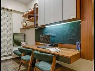 Modern and minimalistic residence design Minimalist study/office by Rich & Aki Minimalist