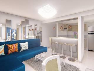 Diseño de Interiores de RB ARQUITECTURA Moderno