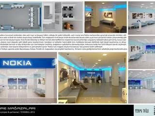 Nokia Care Mağazaları, Tasarım, Proje, Şartname, Danışmanlık, 2011-2012 FT MİMARLIK, DANIŞMANLIK