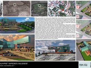 Küre-i Nühas Maden Müzesi- tasarım, proje , danışmanlık- Kastamonu, 2017 FT MİMARLIK, DANIŞMANLIK