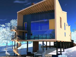 дом с хорошим видом из окна от Вадим Макаров Минимализм