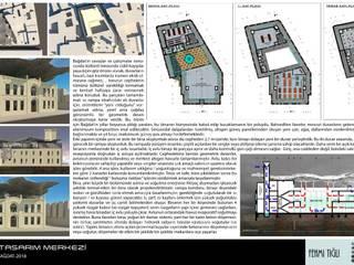 Bağdat Tasarım Merkezi Yarışma Projesi FT MİMARLIK, DANIŞMANLIK