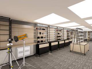 Virtual Stüdyo Mimarlık Yazılım İnşaat Sanayi ve Ticaret LTD ŞTİ – Oktotech Film Servis: modern tarz , Modern