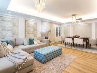 Salones de estilo clásico de Glim - Design de Interiores Clásico