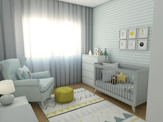 The Spacealist - Arquitectura e Interiores Chambre d'enfant moderne